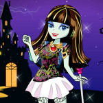 Juego de Halloween con Monster High