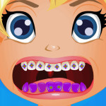Juego en el hospital dentista con Polly Pocket