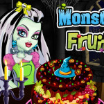 Juego con pastel Monster High