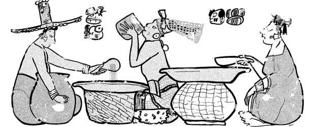 mayas alimentacion