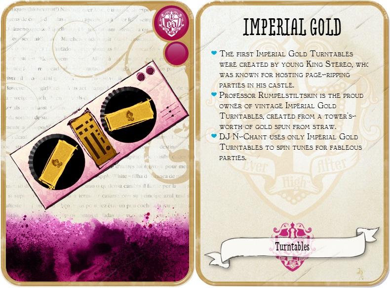mesa mezclas imperial gold
