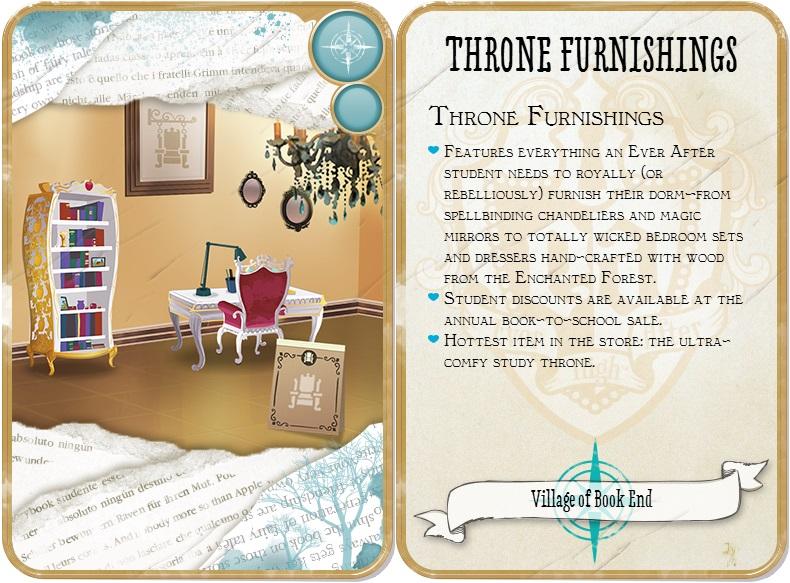 muebles trono