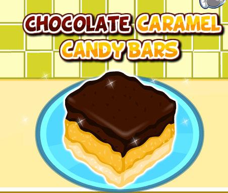 juego caramelo chocolate