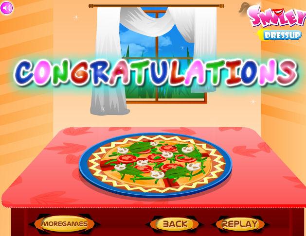 Juego De Cocinar Pizza Juegos