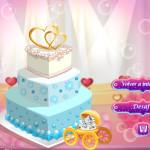 Juego para cocinar un pastel de boda