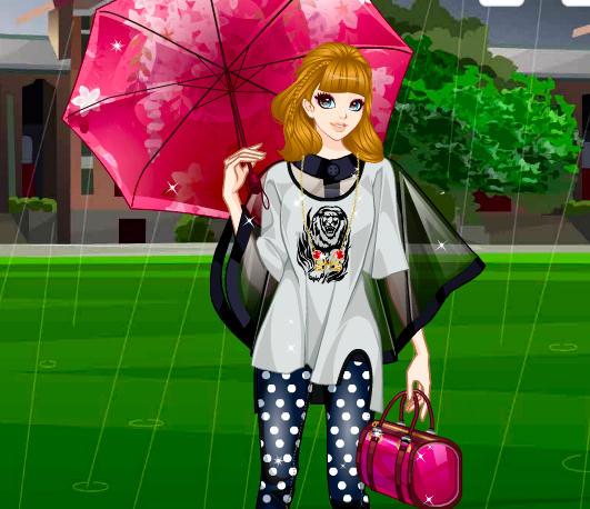 juego-moda-bajo-lluvia