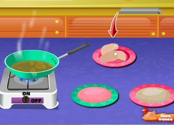juego preparar pollo