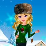 Juego con ropa para invierno