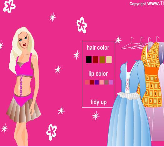 juego ropa seductora barbie