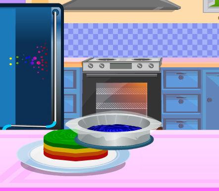 juego tarta arcoiris