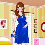 Juego de vestidos y moda para embarazadas