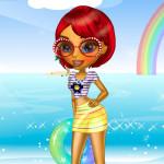 Juego con vestidos de verano