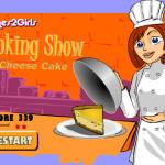 Juego de cocinar tarta de queso con limón