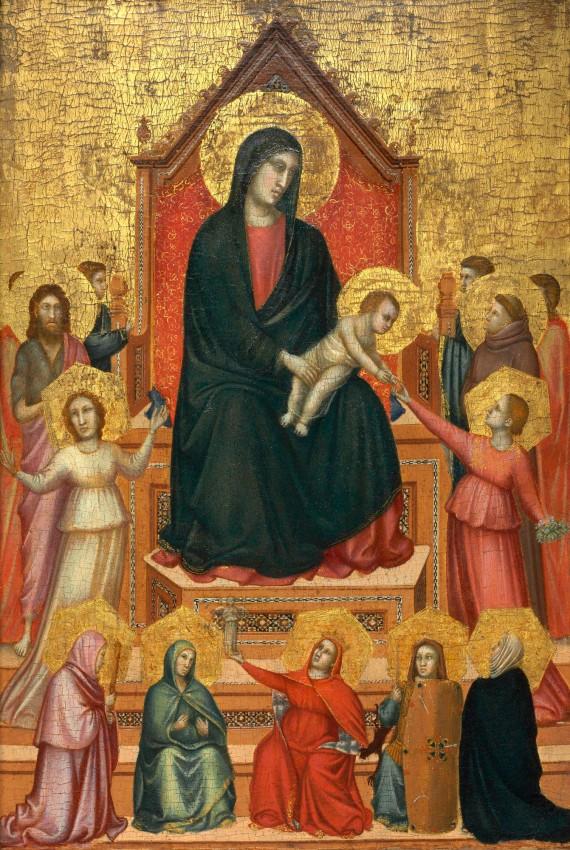 Virgen Nino Santos Figuras giotto