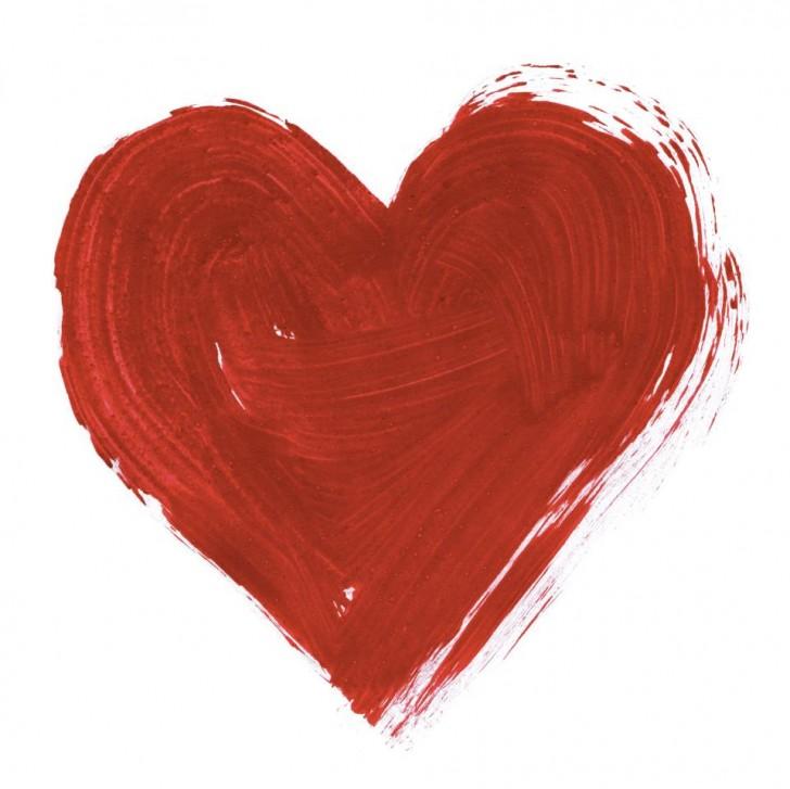 corazon pintura