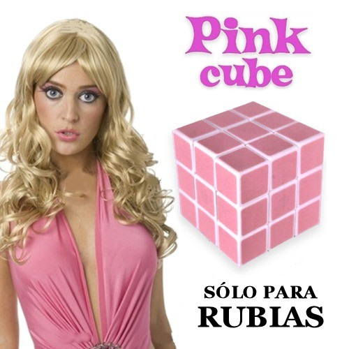 cubo rubik rubias