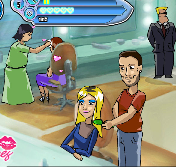 juego besos britney spears