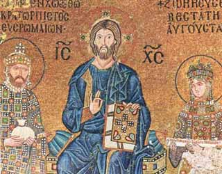 mosaico zoe santa sofia