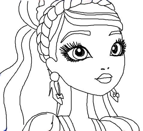 dibujo ashlynn ella