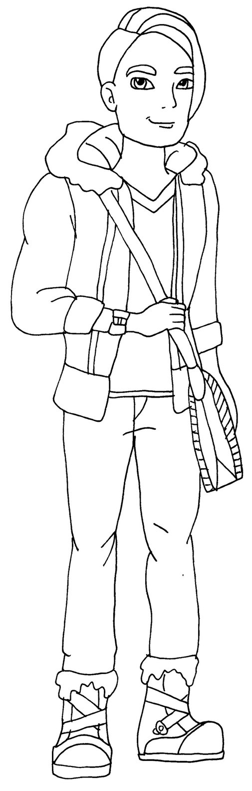 dibujo hunter huntsman