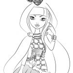 Dibujo para pintar a Cerise Hood de Ever After High