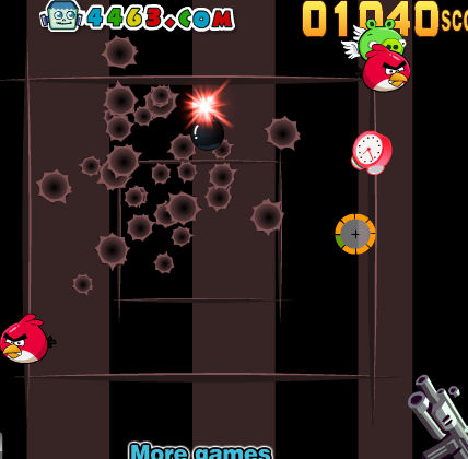 juego angry bird shot