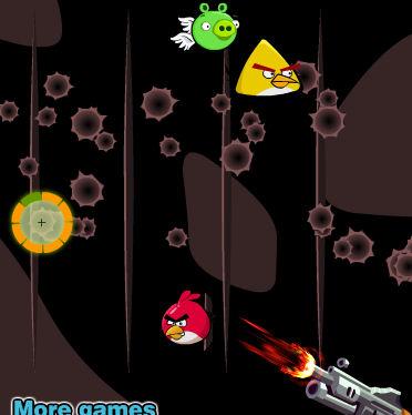 juego angry birds disparar