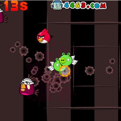 juego angry birds shot