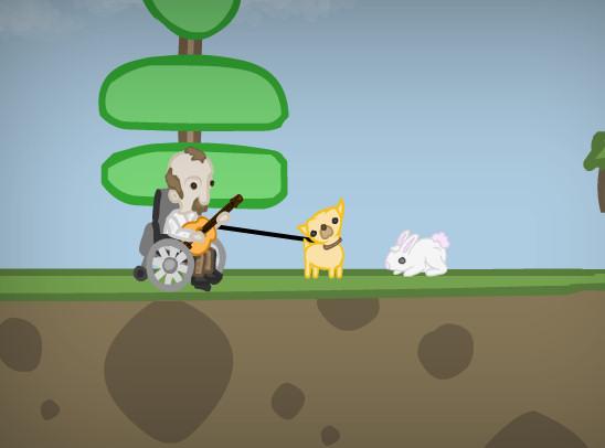 juego perro cazador