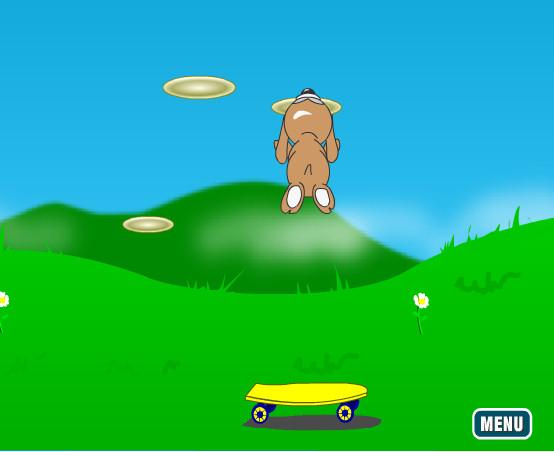 juego perro saltador