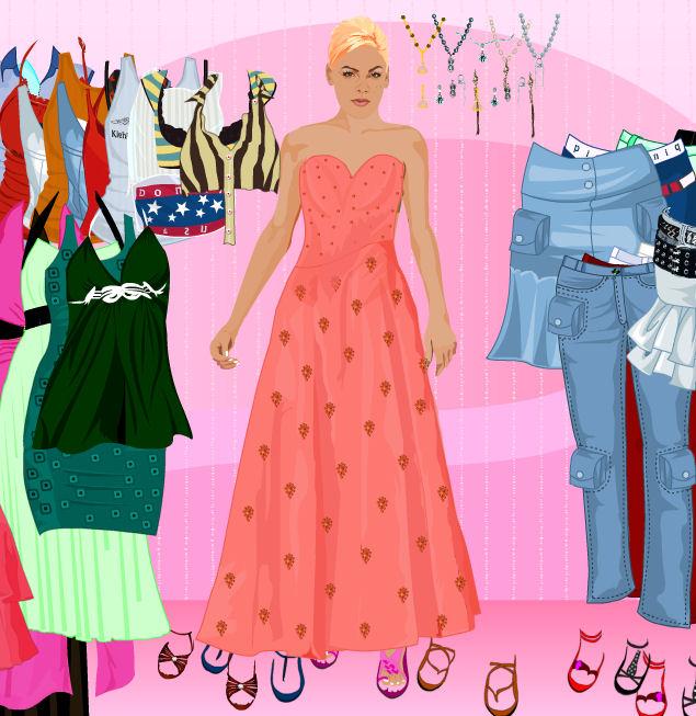 juego vestir pink