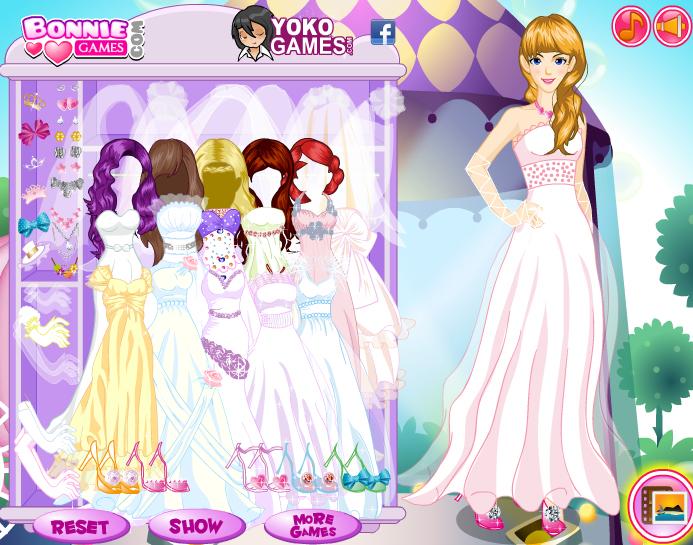 juegos de vestir de novia