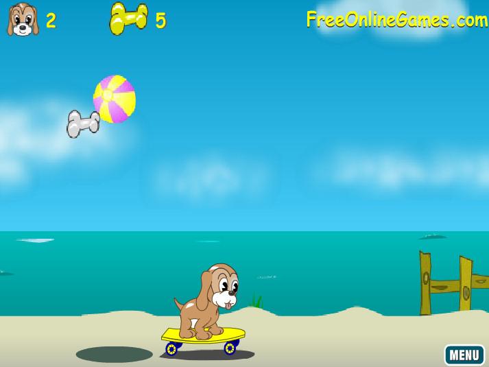 juegos perro saltando