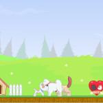 Juego de unir las parejas de gatos y perros