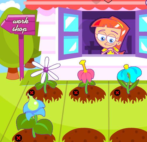 juegos plantar flores