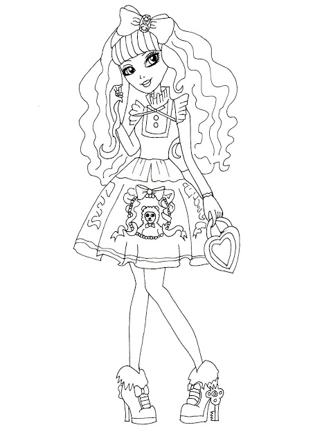 pintar blondie lockes ever after high