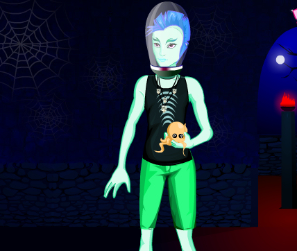 vestir Monster High