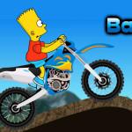Juego con la moto de Bart Simpson