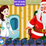 Juego con Santa en urgencias