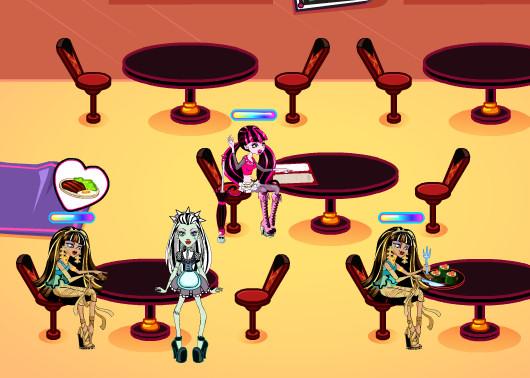 juegos de restaurante