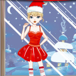Juego de vestidos para Navidad