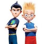 Lewis y Wilbur en la máquina del tiempo