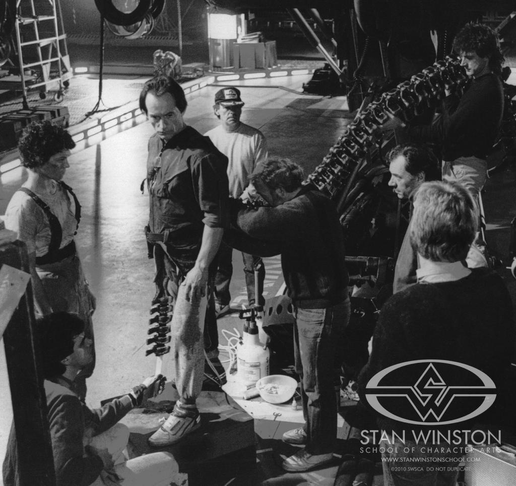 Aliens making of
