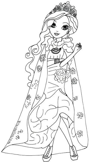 briar beauty dibujo