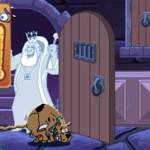 Juego con Scooby en el castillo fantasma