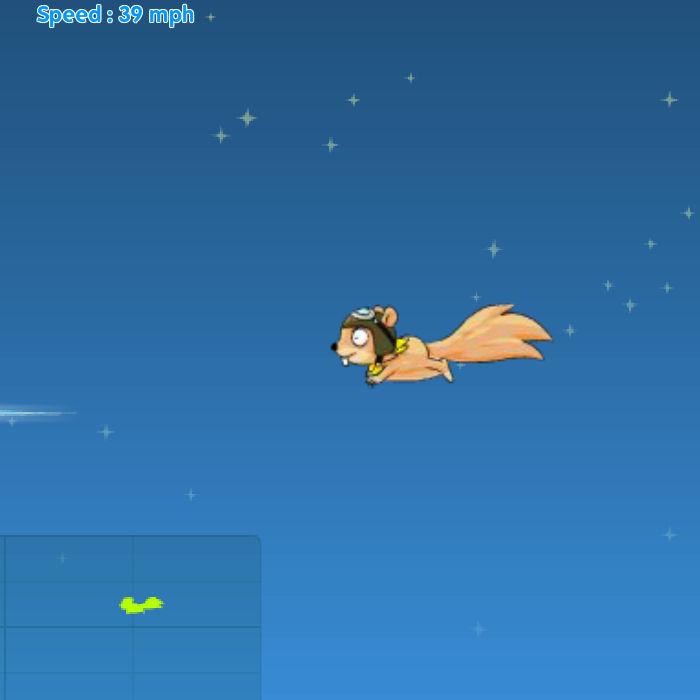 ardilla volar