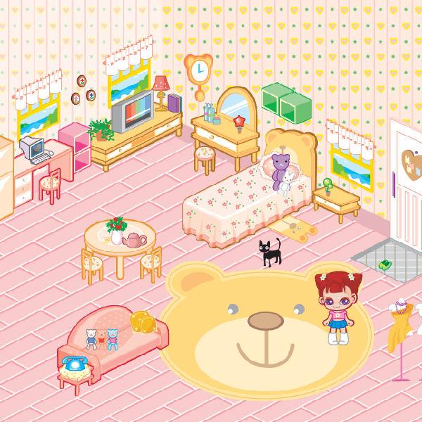 juego decorar casa bebe