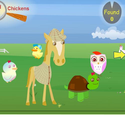 juego encontrar animales