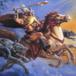 Sleipnir, el caballo de ocho patas