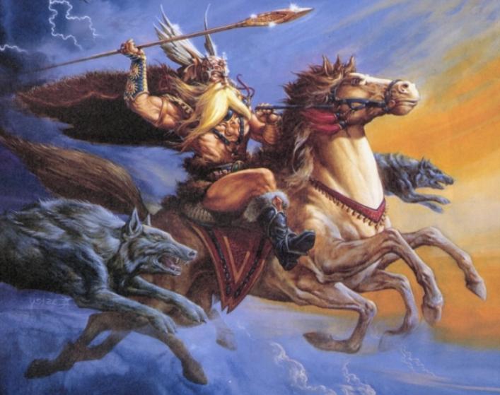 sleipnir caballo ocho patas